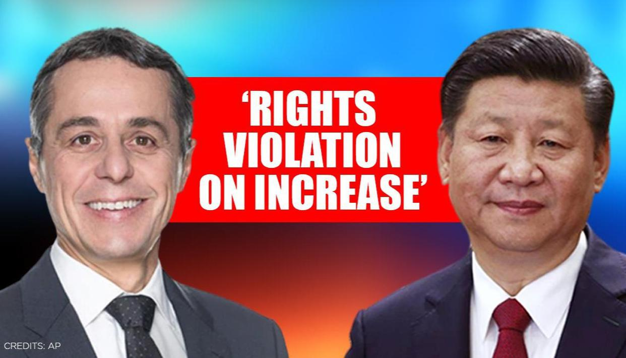 Switzerland warns it 'will react more decisively' if China sticks to its 'course' - Republic World