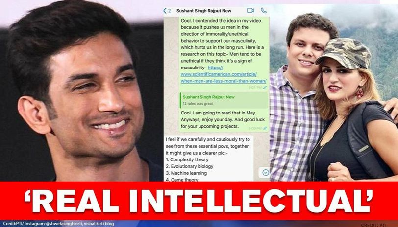 Sushant Singh Rajput S Brother In Law Shares Chats With Ssr Proves He Was A Bibliophile Republic World