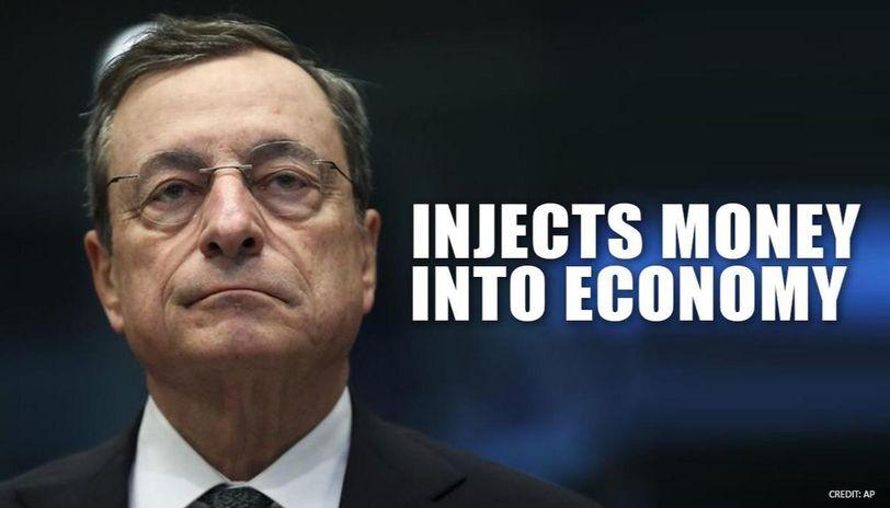European Central Bank announces $818 billion program