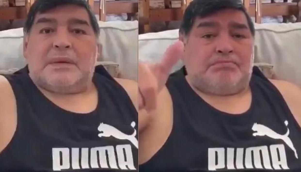 Fact Check Has Football Legend Diego Maradona Gained Insane Amount Of Weight