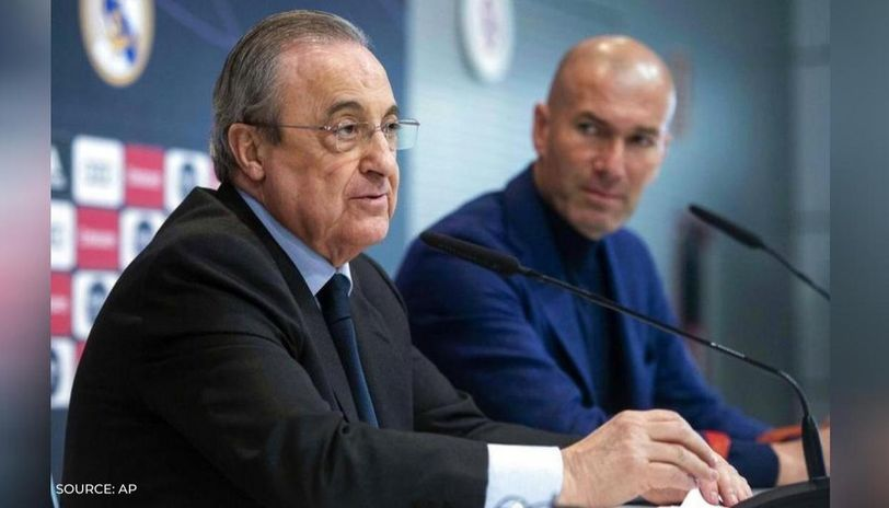 Real Madrid chief Florentino Perez 'upset' with Zinedine Zidane after  Bale's move to Spurs
