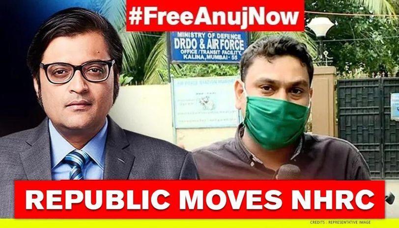 Republic Moves Nhrc Over Uddhav Cops Illegal And Brazen Detention Of Reporter Anuj Republic World