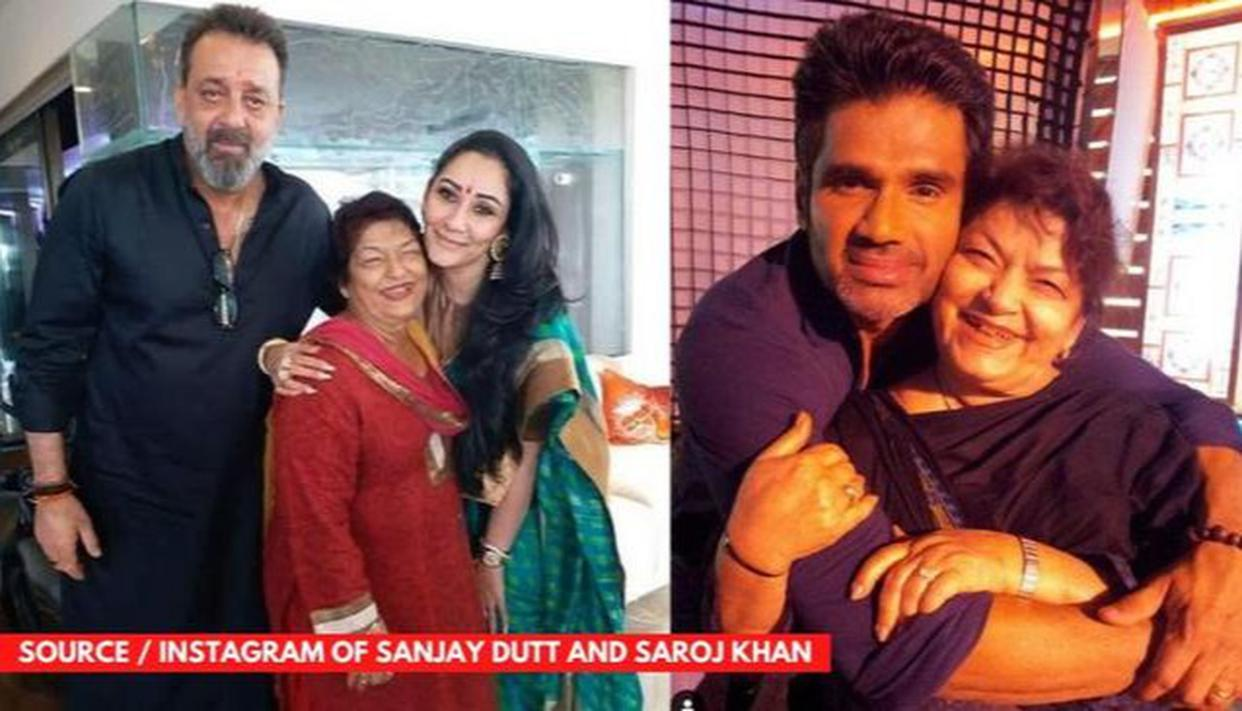 Sanjay Dutt, Sunny Deol and other non-dancers trained by Saroj Khan - Republic World