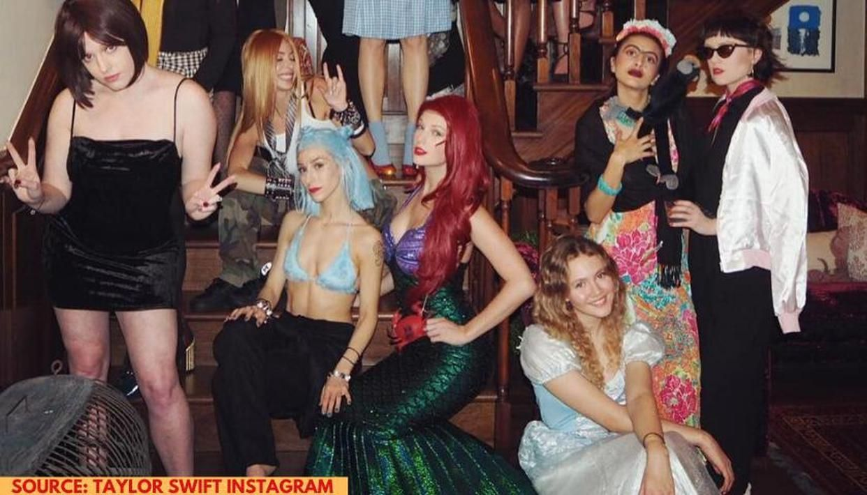 Taylor Swift Halloween Party 2020 Taylor Swift knows how to steal the limelight at any Halloween