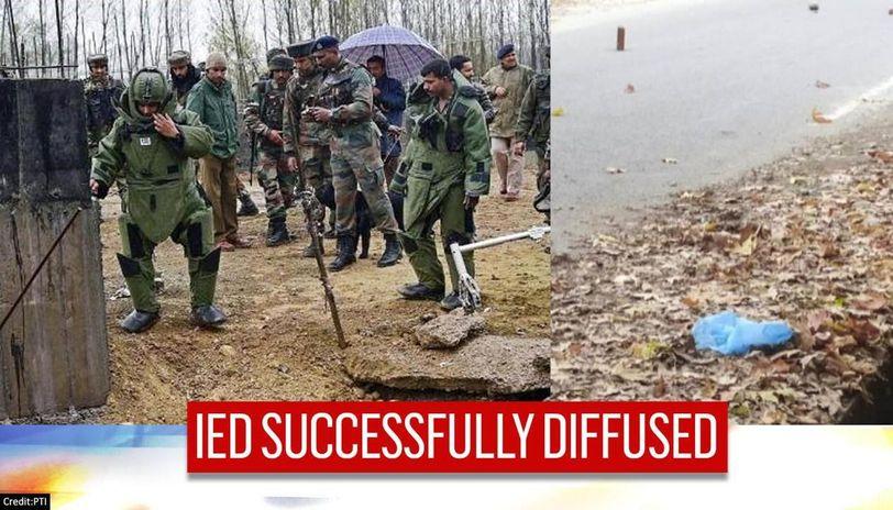 IED detected, defused in Kulgam