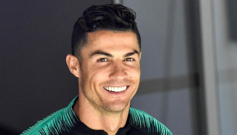Cristiano Ronaldo Flaunts A New Hairdo Asks Fans If They Approve