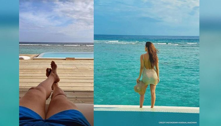 Kiara Advani & Sidharth Malhotra in Maldives
