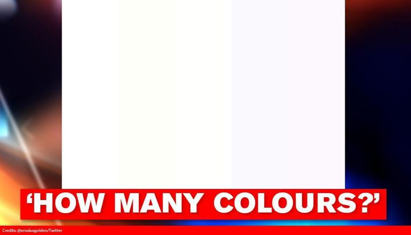 'How many colours do you see?' This optical illusion has left internet baffled