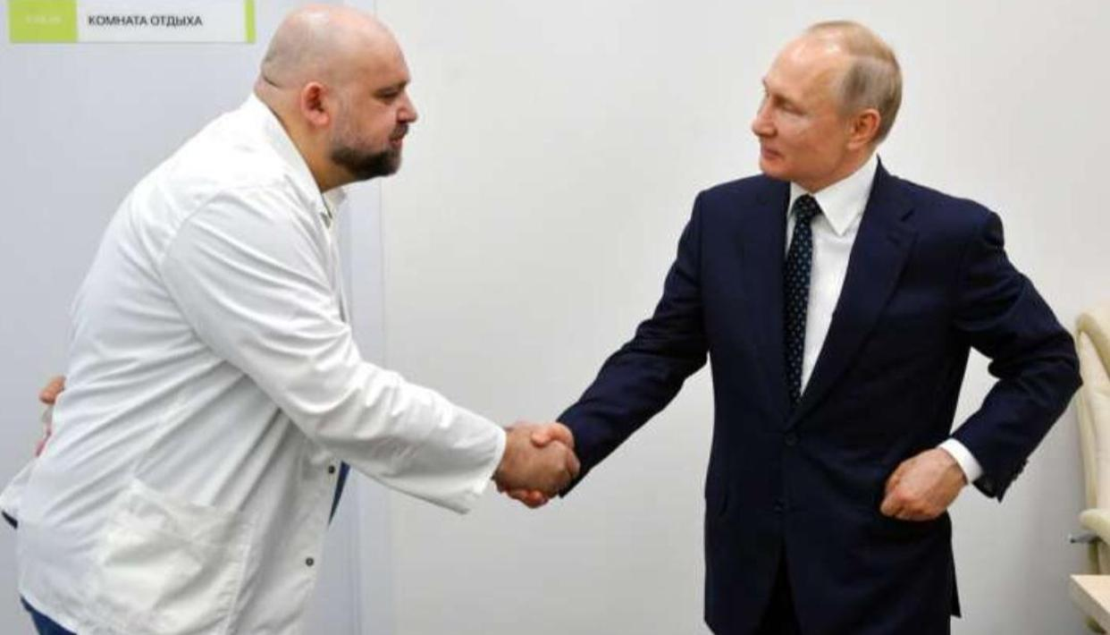 Moscow: Doctor who shook hands with Putin tests positive for coronavirus