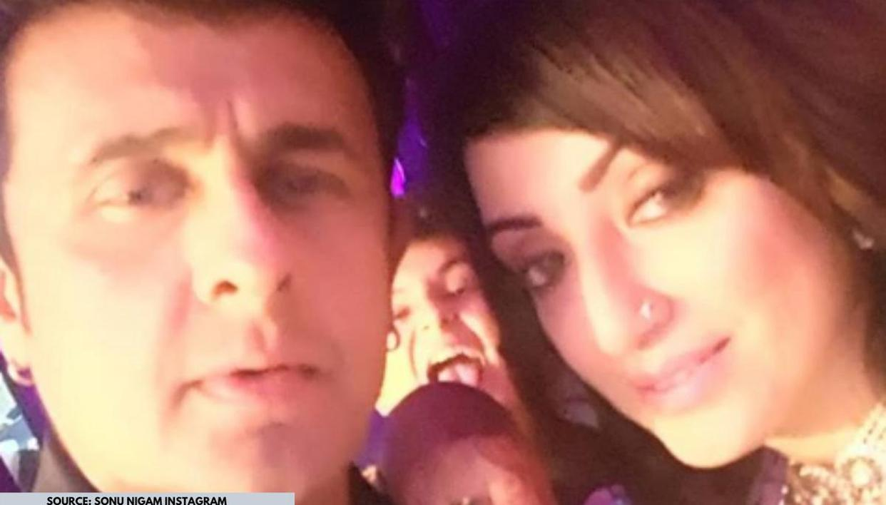 Unseen Pic Of The Day: Sonu Nigam and his wife's wedding picture is all things love - Republic World