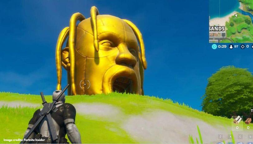Where are the Astro heads in Fortnite