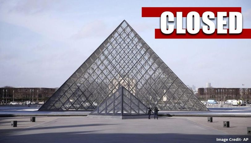 Paris recently shut down the Louvre temporarily for a staff meeting