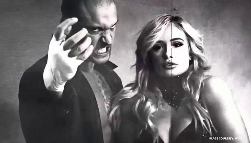 Karrion Kross and Scarlett