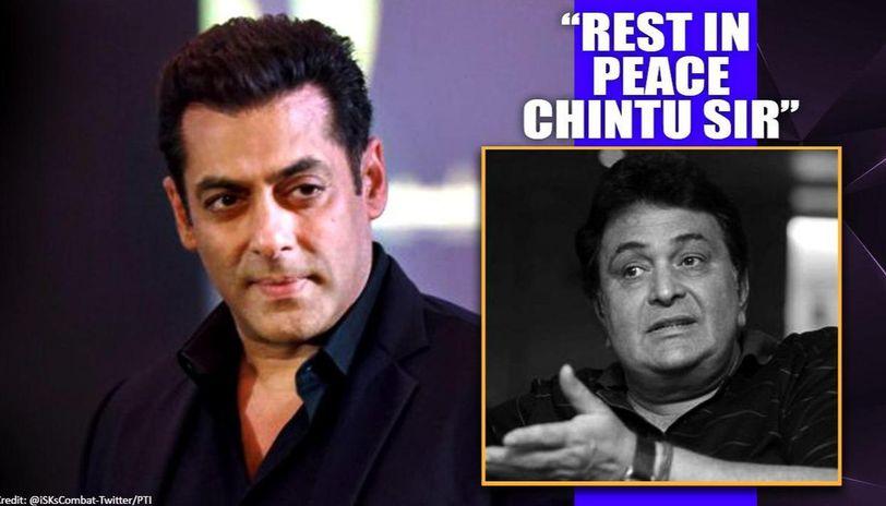 Rishi Kapoor's demise: Salman Khan says 'kaha suna maaf' while sending strength to family