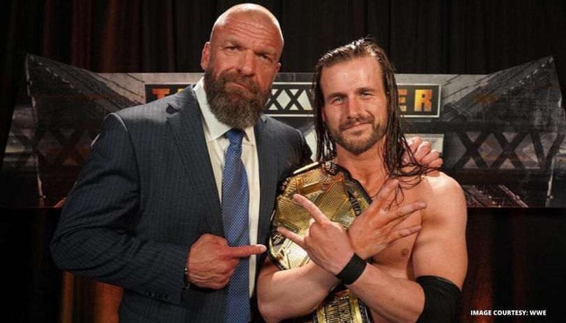 Triple H and Adam Cole