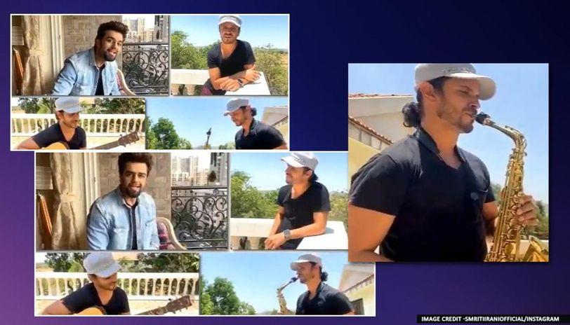 Smriti Irani shares video of Maniesh Paul crooning 'Channa Mereya'