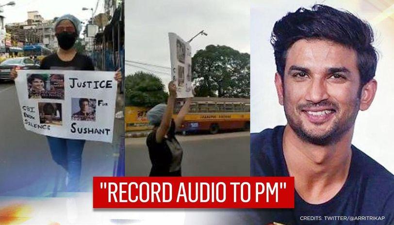 Sushant's fan takes 'CBI break silence' message to streets; SSRians plan 'Mann ki Baat'