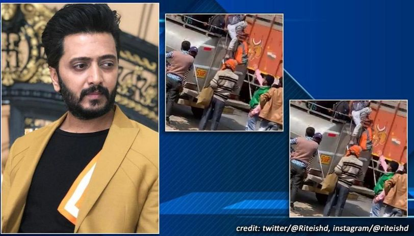 Riteish Deshmukh asks 'Are people being smuggled in India' with video, netizens divided