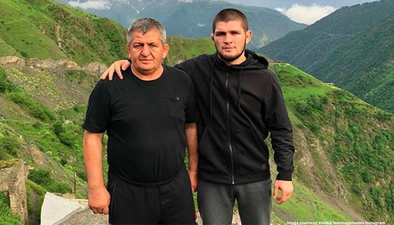 Khabib Nurmagomedov's father hospitalised with flu-like symptoms ...