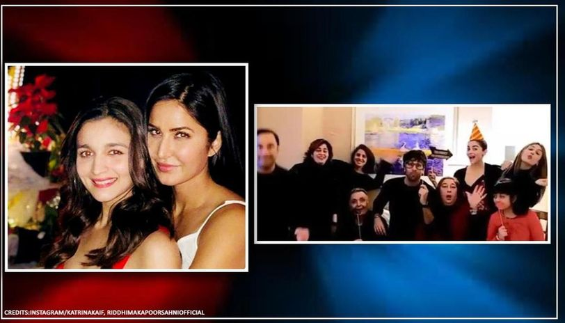 Katrina Kaif gives Alia Bhatt hard time in birthday message, Riddhima posts family moment