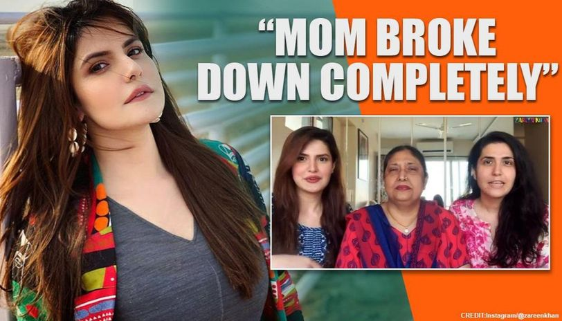 'My dad left us', says Zareen Khan as she opens up on family's financial crunch & recovery