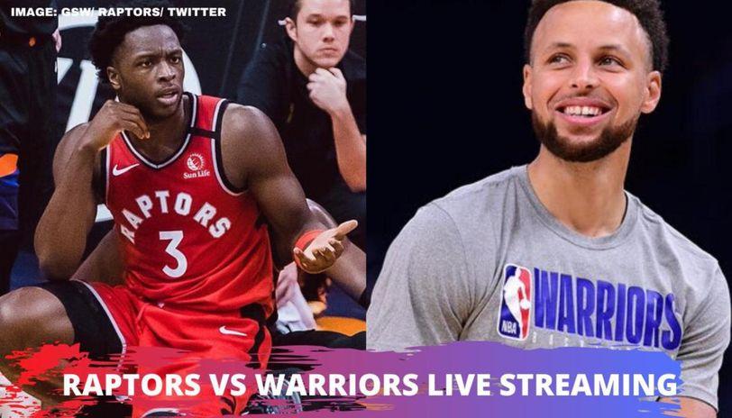 raptors vs warriors live streaming