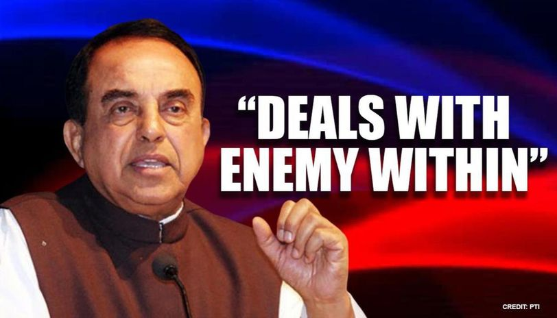 Subramanian Swamy watches series 'thanks to lockdown', says it has 'lessons for India'