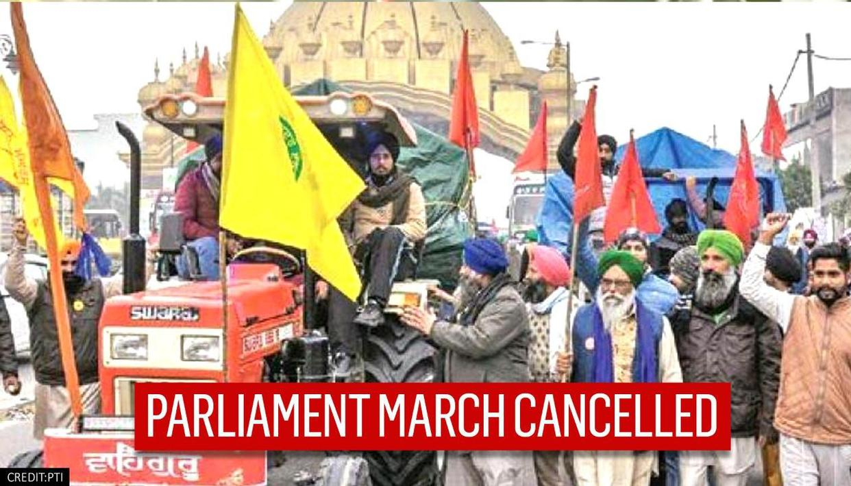 Farmer unions call off march to Parliament scheduled for Feb 1 post R-Day rally violence