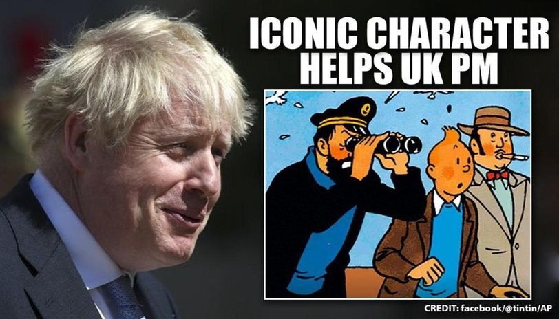 After 'Tintin's role during Boris Johnson's COVID-19 recovery, official fan page reacts