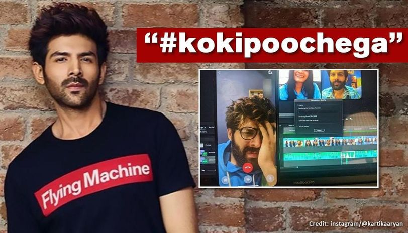 Kartik Aaryan pokes fun at work from home troubles, offers fan Rs 2 lakh to help him