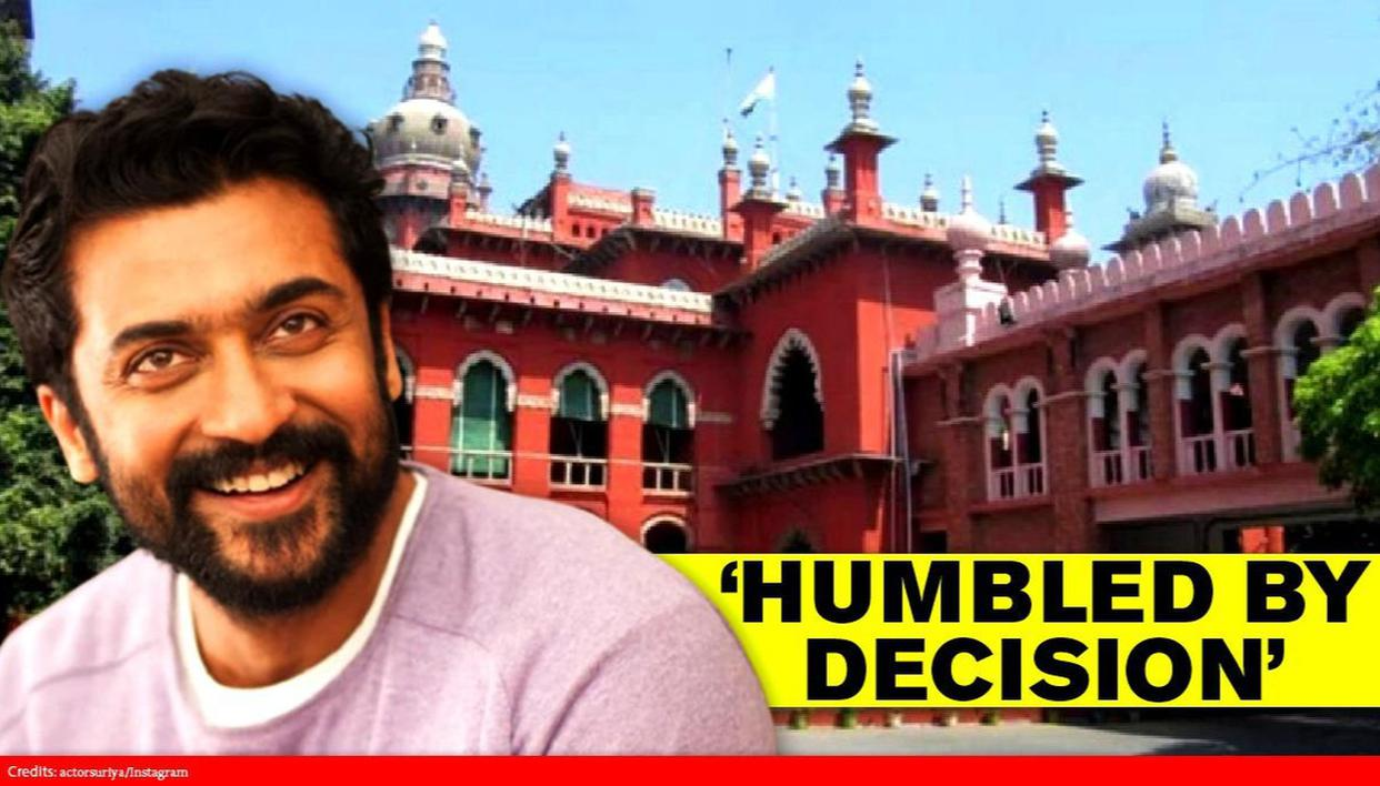 Suriya 'humbled' as Madras HC refuses to initiate contempt proceedings over NEET remark - Republic World