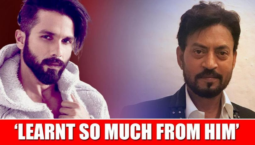 Shahid Kapoor condoles Irrfan Khan's death, says he has 'gone too soon'