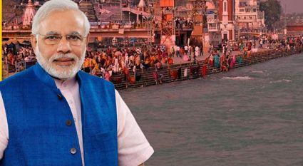 Narendra Modi To Tour Ganga River-Telugu Breaking News-12/13