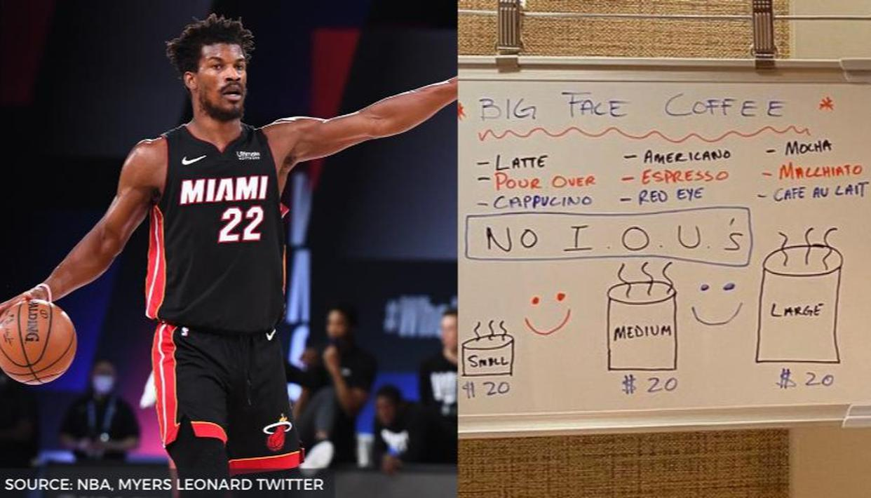 Jimmy Butler Ready To Take Big Face Coffee To The Next Level Wants Logo Trademarked Republic World
