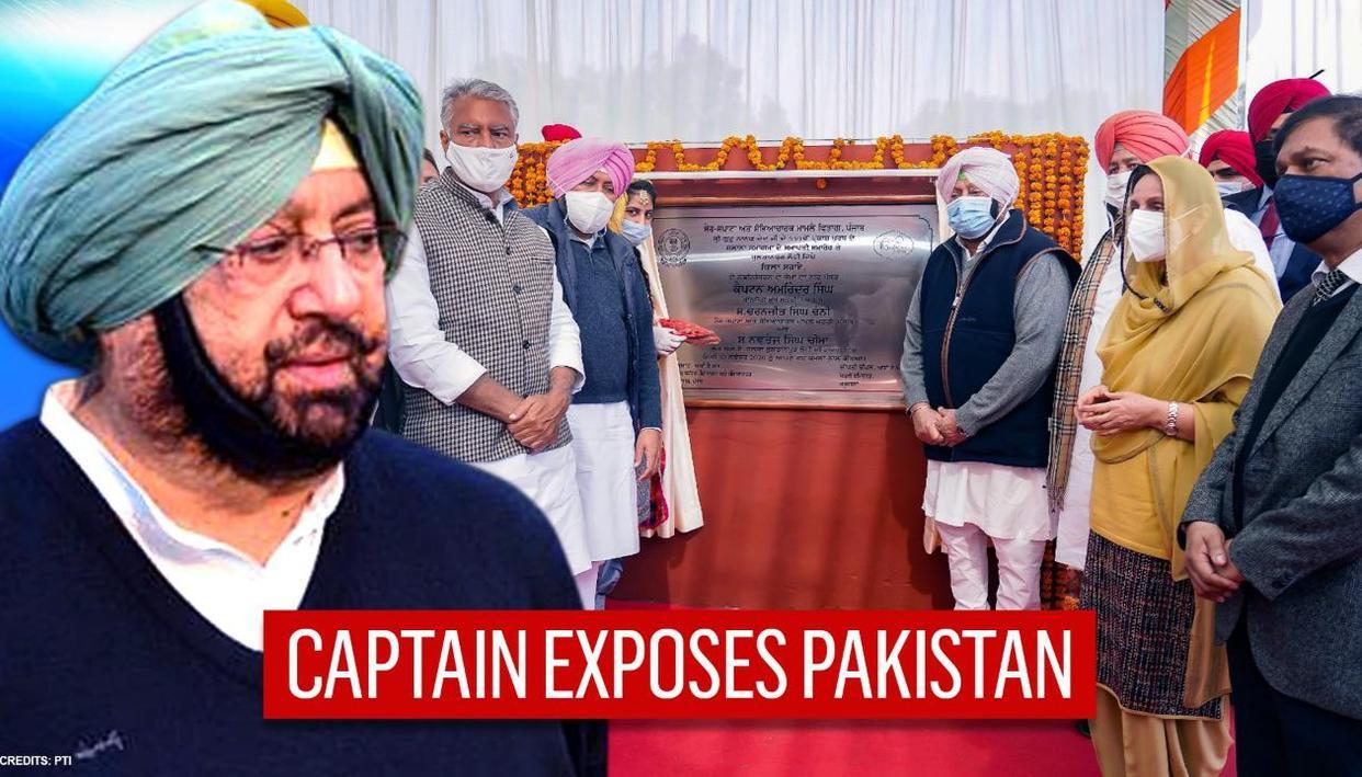 Punjab CM Captain Amarinder unveils projects on Gurpurab; slams Pak for creating tensions