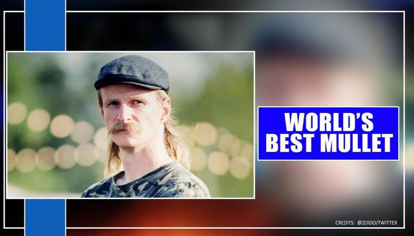 British Man wins World's Best Mullet award in annual Mulletfest