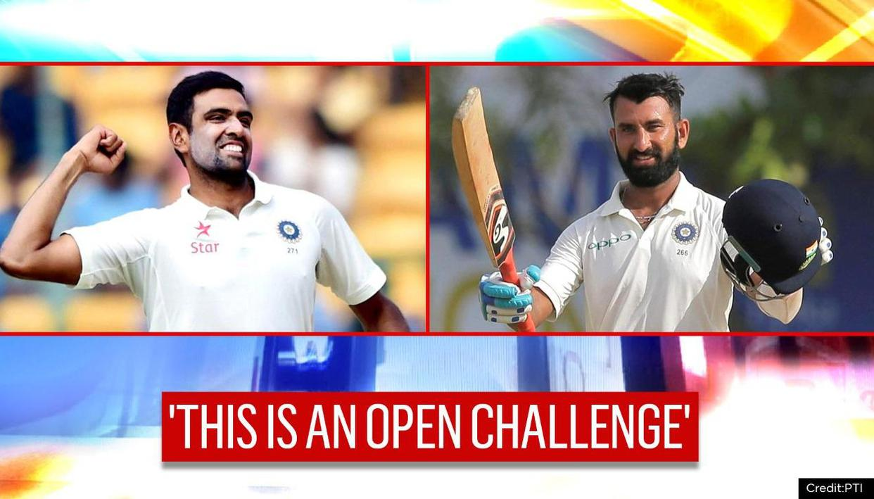R Ashwin throws a tricky 'open challenge' to Cheteshwar Pujara ahead of England series
