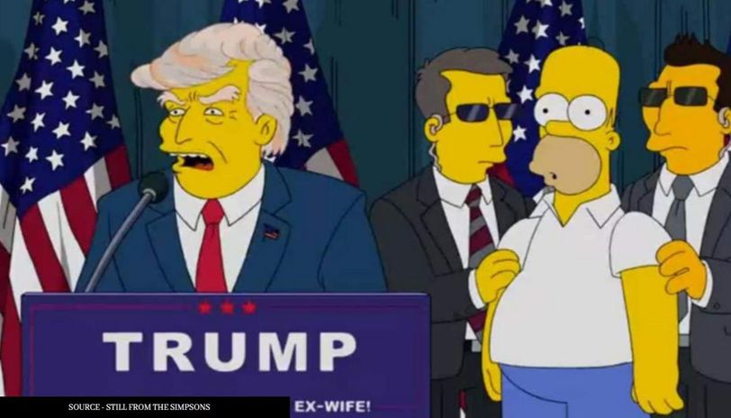 Did The Simpsons Predict President Donald Trump S Demise On August 27 Republic World