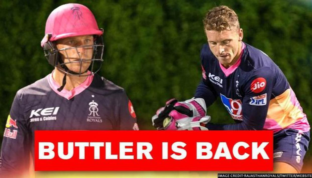 Jos Buttler returns to Rajasthan squad for Punjab clash, fans predict Storm in Sharjah - Republic World