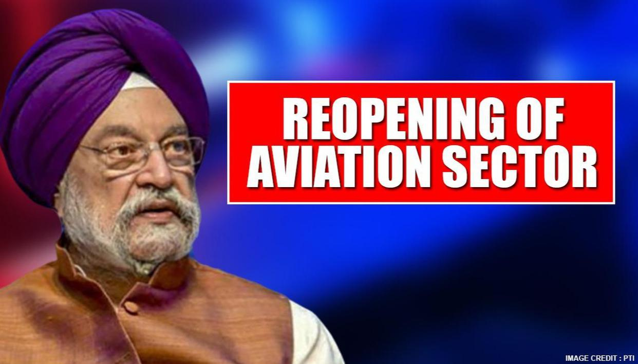 Following Unlock 1.0; Hardeep Singh Puri hints at gradual reopening of Aviation Sector - Republic World