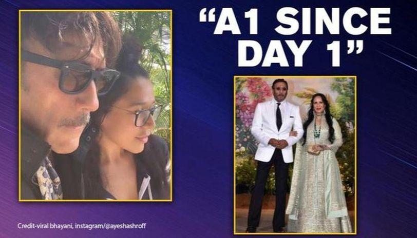 Jackie Shroff returns home after time away in lockdown, Ayesha, Krishna gush over his swag