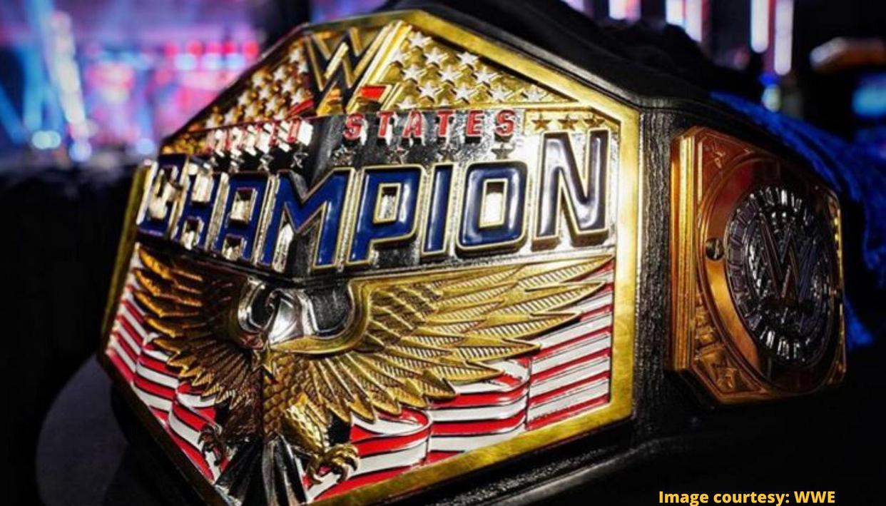 WWE launches brand new United States title, fans deliver their verdict on new-look belt - Republic World