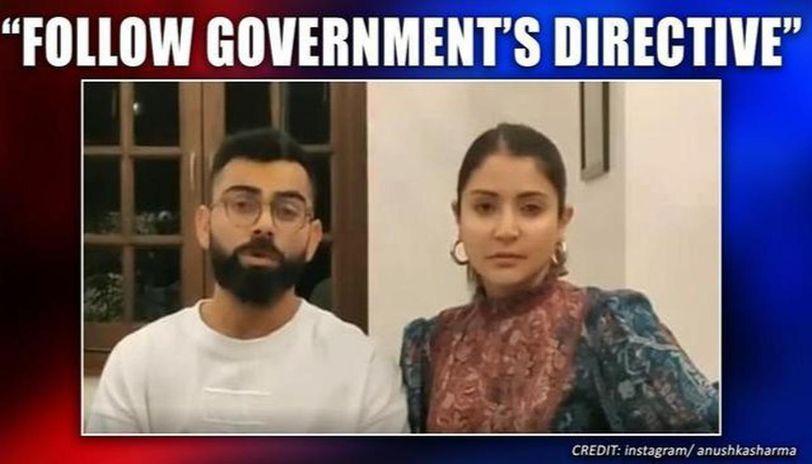 COVID-19: Virat Kohli-Anushka Sharma in 'self-isolation', urge fans to follow in video