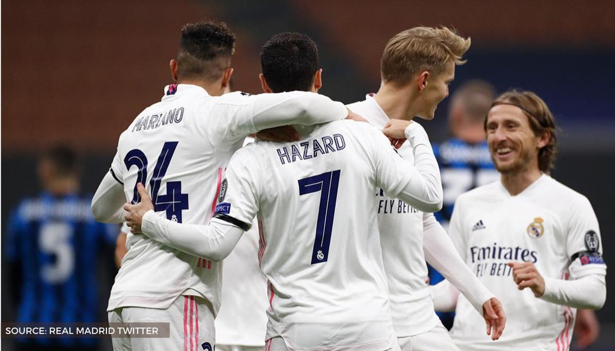 Champions League Results And Highlights Real Madrid Beat Inter Atalanta Sink Liverpool