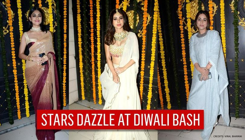 Ekta Kapoor's Diwali bash brings stars together; Mouni Roy, Hina Khan, others shine
