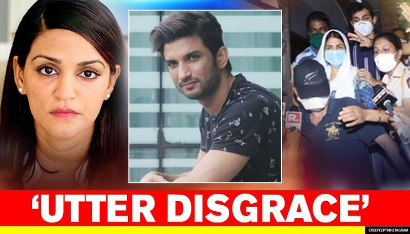 Sushant S Family Lambasts News Channel For Giving Platform To Rhea Calls It A Disgrace Republic World
