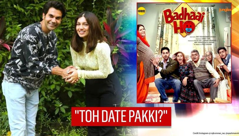 Rajkummar Rao-Bhumi Pednekar fix 'date' for 'Badhaai Do' as Ayushmann film completes 2 yrs