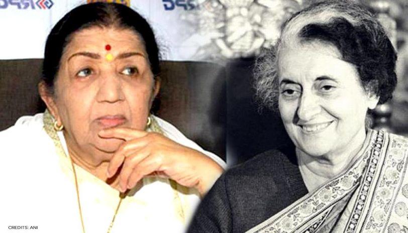 Lata Mangeshkar pays tribute to Indira Gandhi on birth anniversary with throwback pics