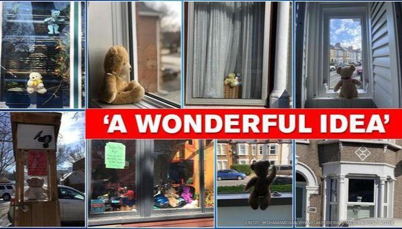 COVID-19: Teddy bear hunt game to keep kids engross amid lockdown