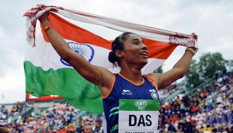 Hima Das dedicated her 400m mixed relay gold to 'Coronawarriors'